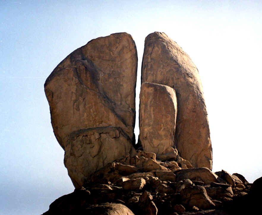 Archeological Evidence For Mount Sinai - Split Rock