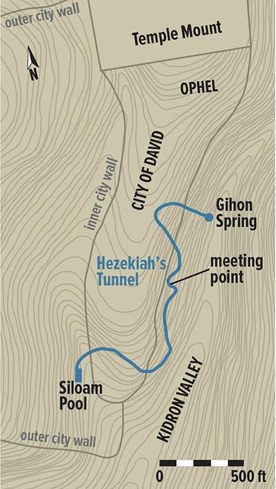 Archeological Evidence For Hezekiah's Tunnel 2