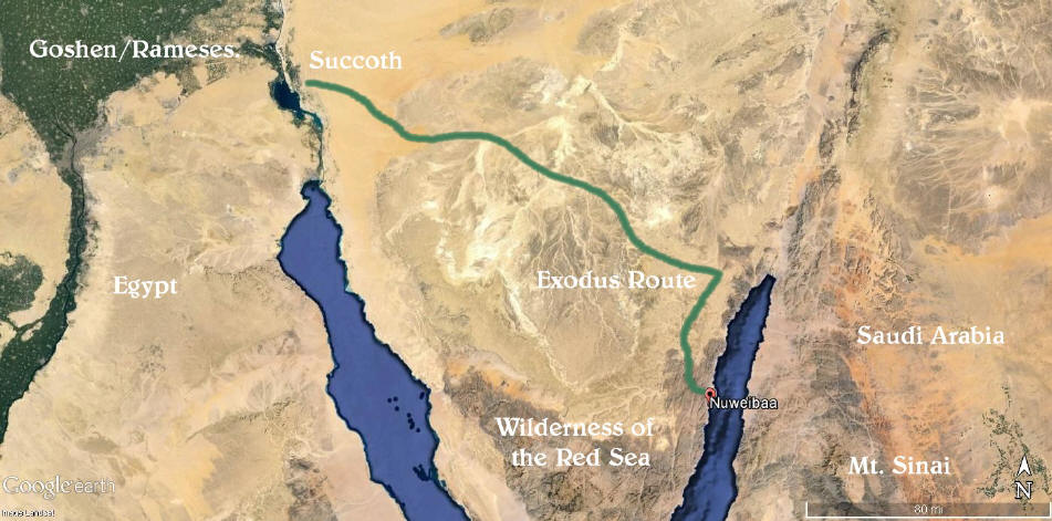 Archeological Evidence For The Red Sea Crossing 1