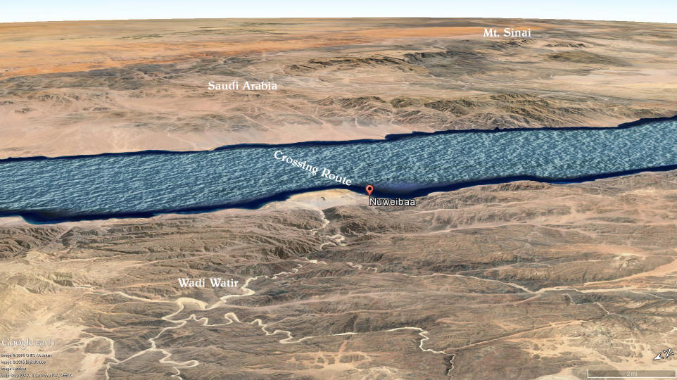 Archeological Evidence For The Red Sea Crossing 7